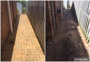 brick paver path